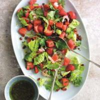Seafood Salad with Strawberries Recipe