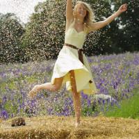 Shrropshire Petals - dancing with confetti