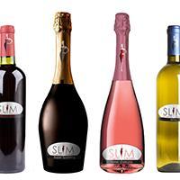 SlimLine Wedding wine collection