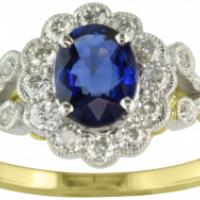 splurge on a sapphire ring