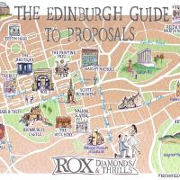 guide map to propose in Edinburgh