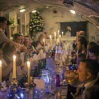 Wedding venue wine cellar