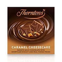 Thorntons caramel cheesecake chocolate blocks