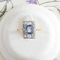A vintage engagement ring