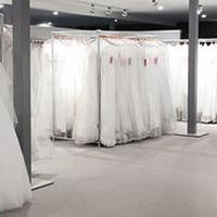 Wedding dresses in store