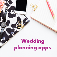 Items needed for planning a wedding