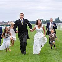 Weddings worthy of a photo finish
