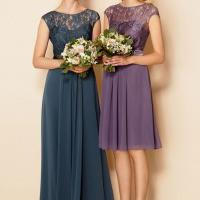 Purple tops bridal party poll for 2015 despite experts touting shades of green as this season's must have