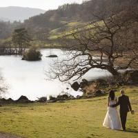 Wedding competition winners tie the knot in the Lakes