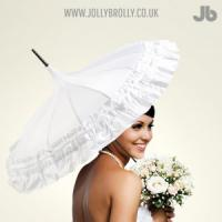 Wet Weather Weddings Bride Jolly Brolly