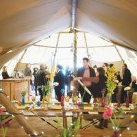 BIG CHIEF TIPIS host wedding open weekend