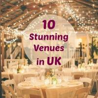 10 Stunning Wedding Venues in UK