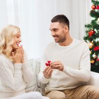 Christmas Eve revealed as the most popular time of the year to propose!