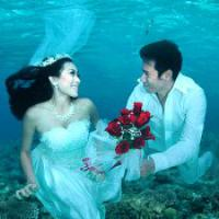 Under the sea wedding just one of 9 Most Unique Places to Get Married