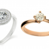 Image of engagement rings, should you buy the engagement ring before or after?