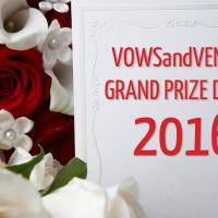 Vows and Venues Magazine Grand Prize Draw