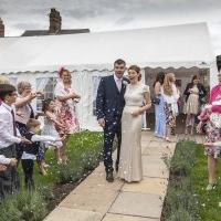 Gala tent wedding marquee exterior