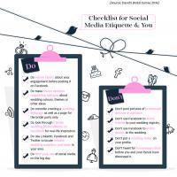 Social Media Etiquette (Infographic)
