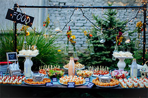 Wedding food trends 2018