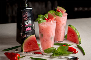 Tequila Rose cocktail