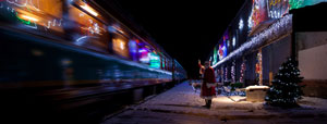 Festive spirit train