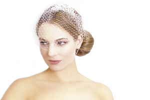 Winter wedding hairstyles updo