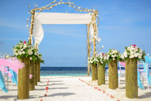 Planning a wedding on the beach abroad