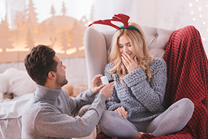 Four in 10 British women are secretly expecting a Christmas proposal