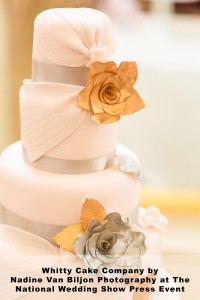 National Wedding Show Image Cake