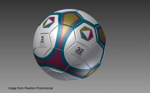Pavilion Promotional football