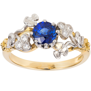 3515SD-London-Victorian-Ring-Co-Vintage-Floral-Sapphire-and-Diamond-Ring-£1,650-www.london-victorian-ring